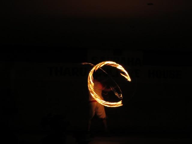 .....aaand fire dance!