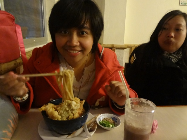 Had Udon in Nepal