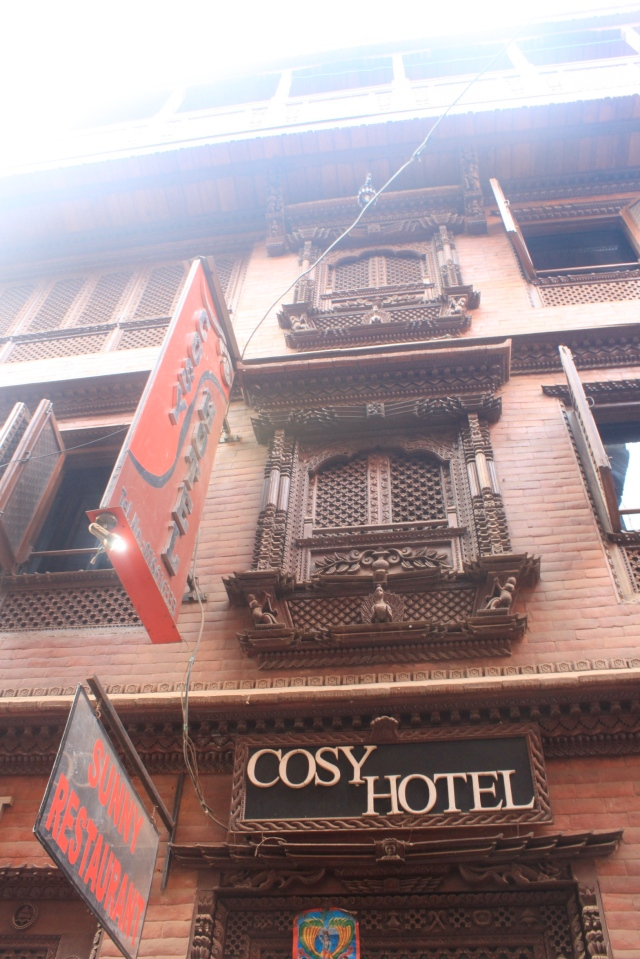 The cozy Cosy Hotel.