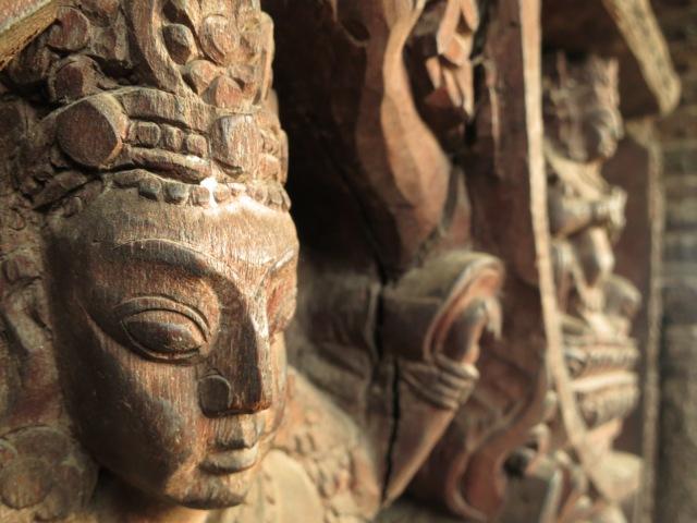 Carving on Nyatapola Temple.