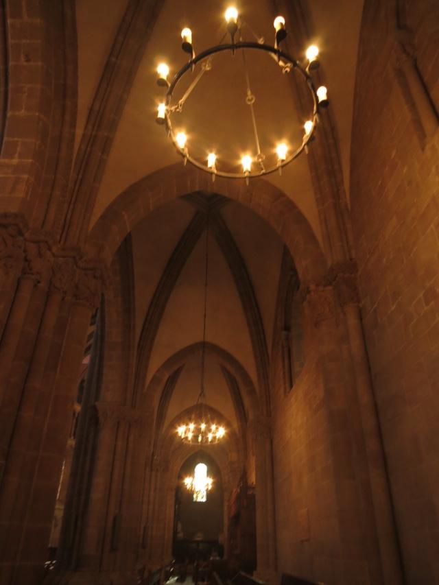 The ceiling of Saint Pierre Church