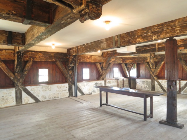 The common room in the tower.