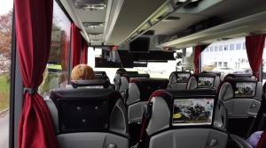Foto di dalam bus