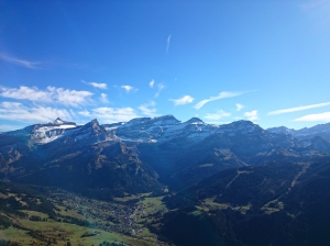 Les Diablerets and the valley