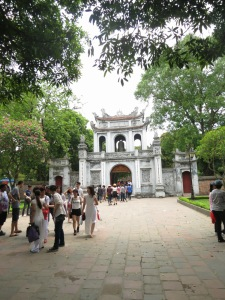 Hanoi's Temple of Litterature
