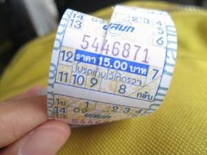 Bus Ticket from Don Mueang to Mo Chit