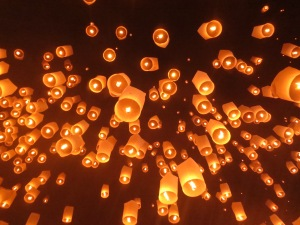 Float lanterns, float!