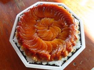 Caramel Pear Tart!