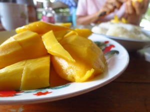 Mango sticky rice to die for